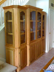 Custom Book Case, Enclosed